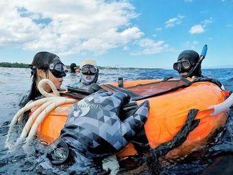 国际潜水中心PADI自由潜美人鱼水肺