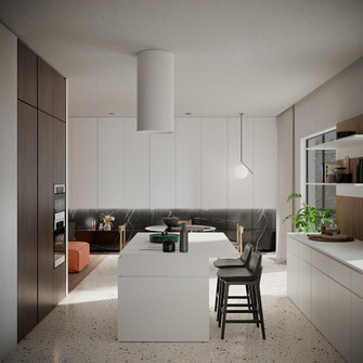 50平米公寓null风格厨房装修案例