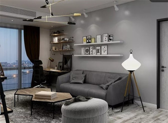 70平米公寓null风格客厅效果图