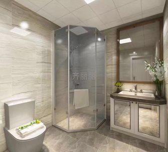 140平米四null风格卫生间设计图