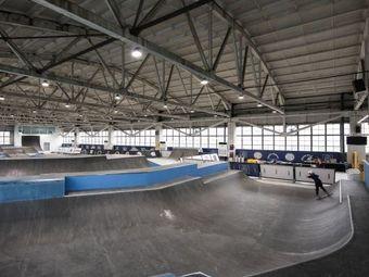 More Skatepark 室內滑板場