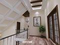 140平米复式null风格楼梯间装修案例