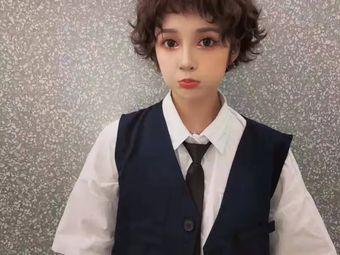 巴洛克韩国发艺