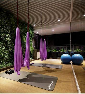 110平米四null风格健身室装修效果图