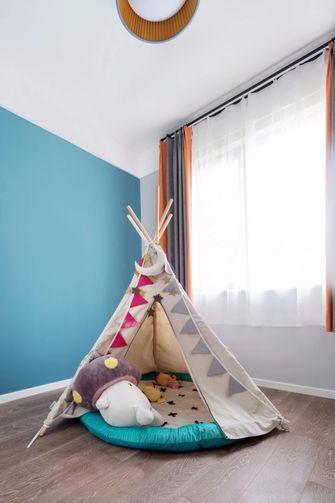 120平米三null风格儿童房装修图片大全