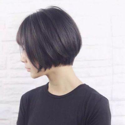 短发造型作品图