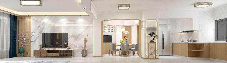 140平米三null风格餐厅装修效果图