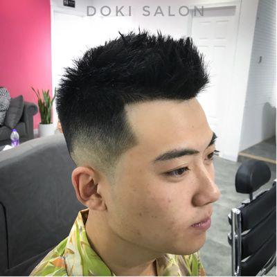 发型作品图