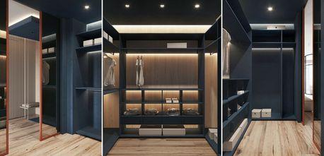 60平米一居室null风格衣帽间设计图
