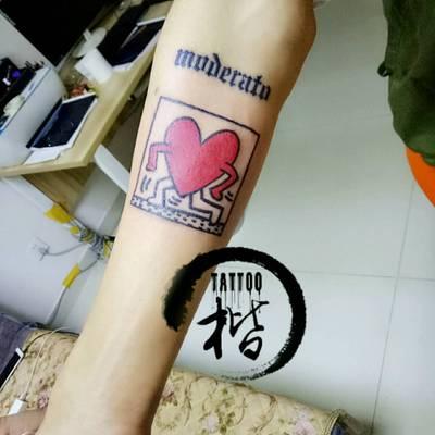 权志龙纹身图
