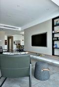 130平米四null风格客厅装修图片大全