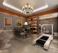 140平米别墅null风格健身室图