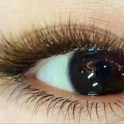 彩色眼尾美甲款式图