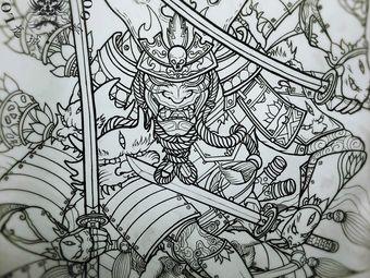 龙城刺青穿刺龙珠皮秒洗纹身