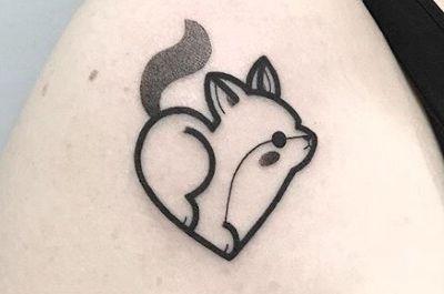 黑白小图纹身图