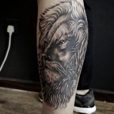 狮子z纹身款式图