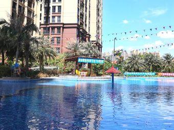 帝庭国际小区游泳池