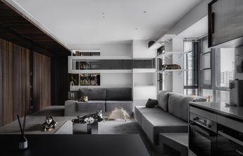 130平米三null风格客厅装修案例