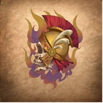 骷髅头纹身款式图