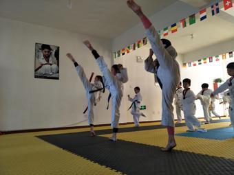 雄风跆拳道少年宫培训馆