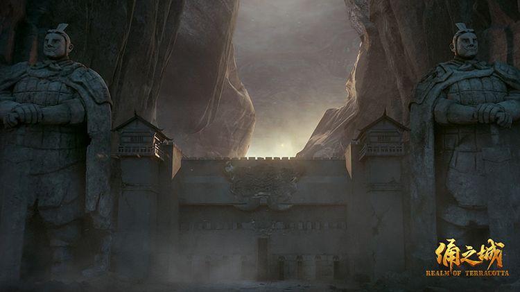 《俑之城》兵马俑镇守城池.jpg