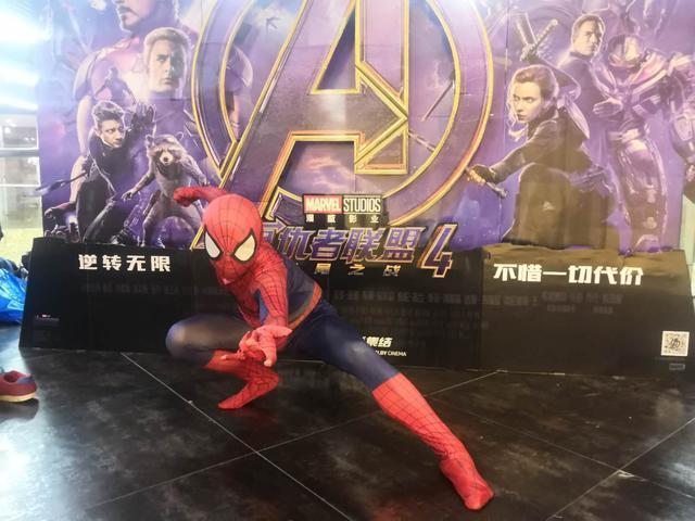 《复联4》零点场震撼开画,蜘蛛侠惊现影城  第3张