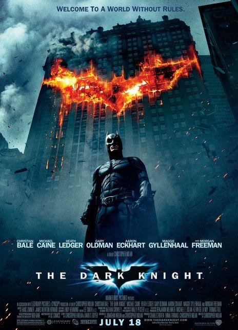 蝙蝠侠:黑暗骑士海报封面