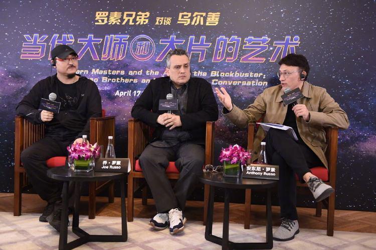 """中国粉丝对《复联4》热情高涨,导演罗素兄弟称像""""恋爱关系""""  第2张"""