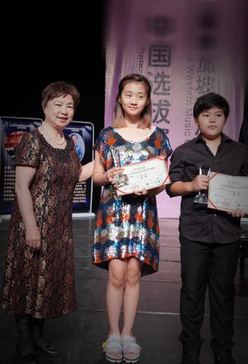 13岁多多好优秀,参加钢琴比赛获5个一等奖,长