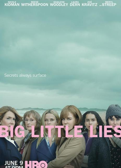 大小谎言 第二季海报封面