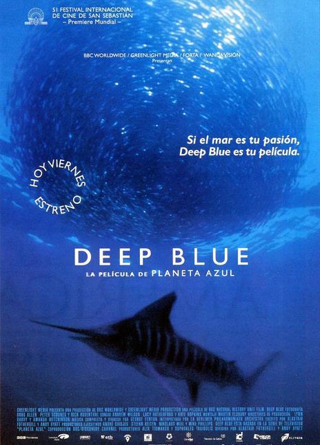 2003年 深蓝[豆瓣9.1高分 带您领略5000米以下深海的神秘离奇]