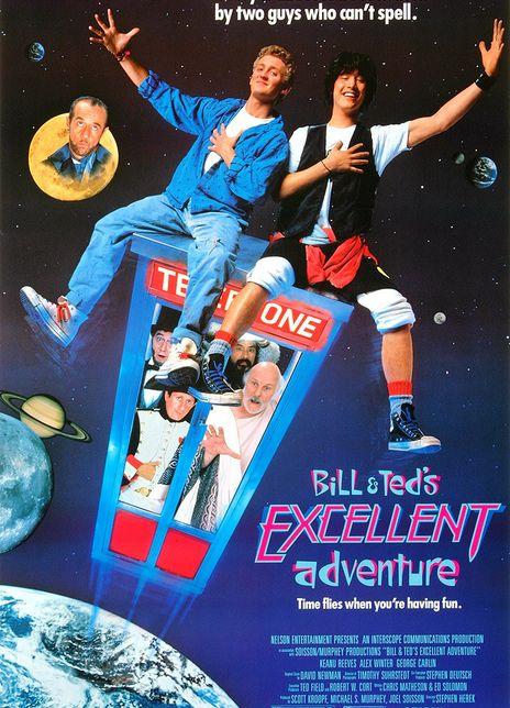 1989基努·里维斯喜剧科幻《比尔和泰德历险记》BD1080P.中英字幕