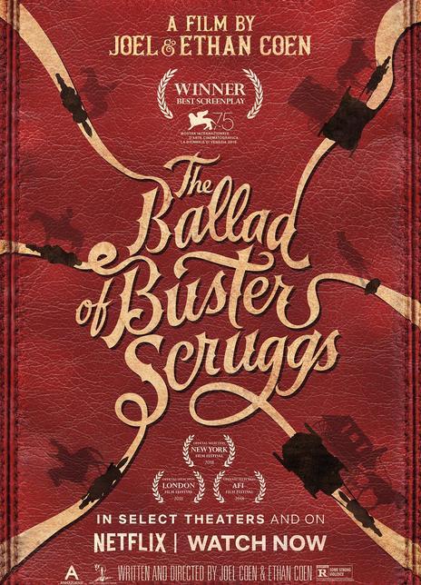 2018高分西部《巴斯特·斯克鲁格斯的歌谣》HD1080P.英语中字