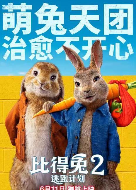2021动画喜剧《比得兔2:逃跑计划》BD1080P 高清下载