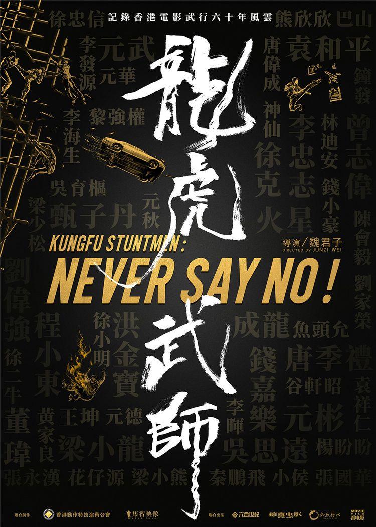 纪录片《龙虎武师》首发海报,刘德华题写片名  第1张