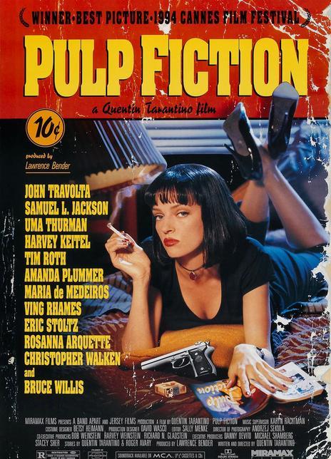 1994昆汀高分犯罪喜剧《低俗小说》BD720P.高清中英双字