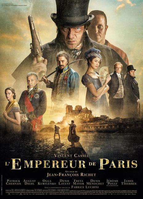 2018 法国《巴黎皇帝》让·弗朗西斯·瑞切执导历史题材新作