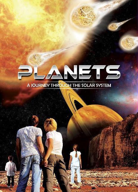 太阳系:奇妙之旅海报封面
