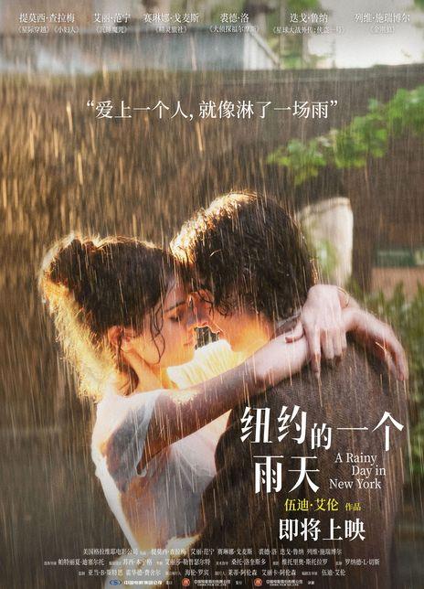 2019高分喜剧爱情《纽约的一个雨天》BD1080P.中英双字