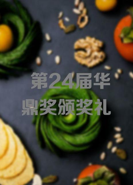 第24届华鼎奖颁奖礼海报封面