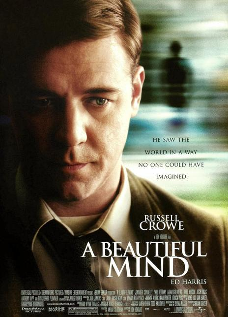 2001羅素克勞高分劇情《美麗心靈/完美大腦》BD720P.國英雙語.中英雙字