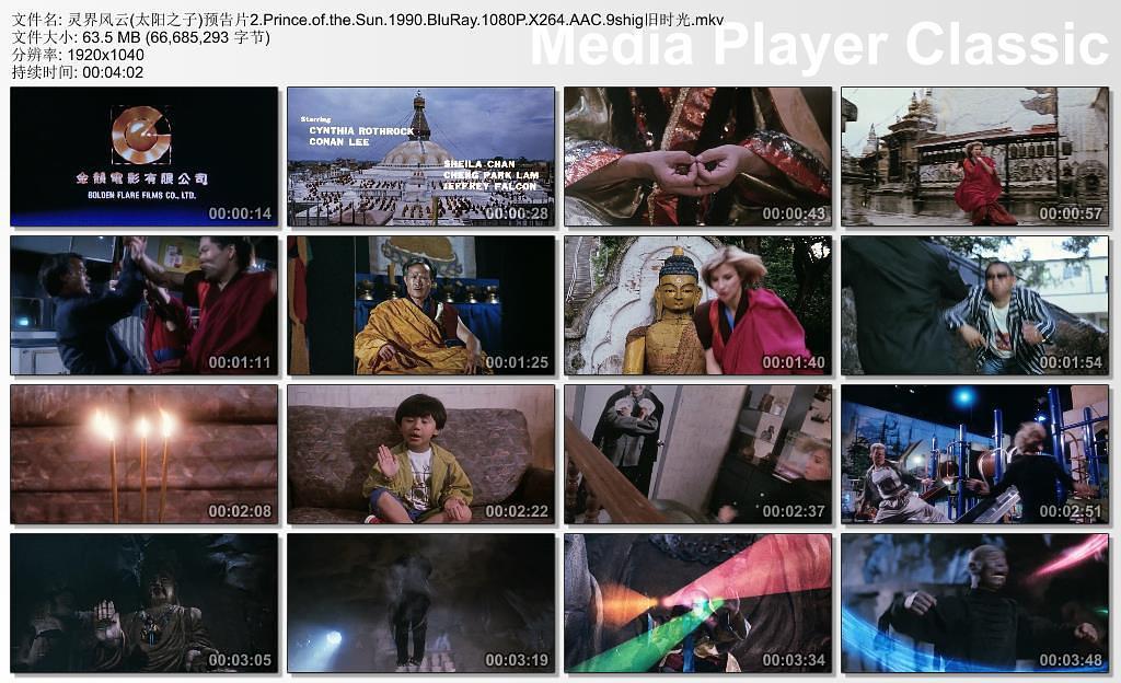 1990林正英动作《太阳之子》HD720P 高清下载