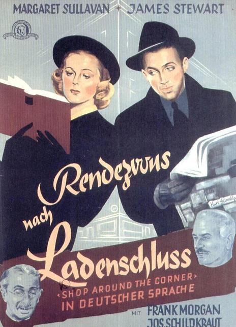 1940高分喜剧爱情《街角的商店》BD1080P.中英双字