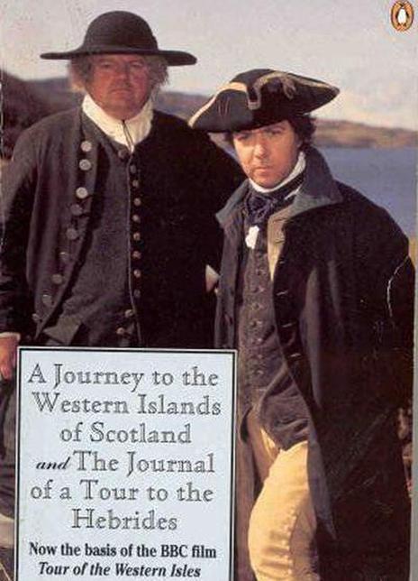 包斯威尔和约翰逊的西部群岛之旅海报封面