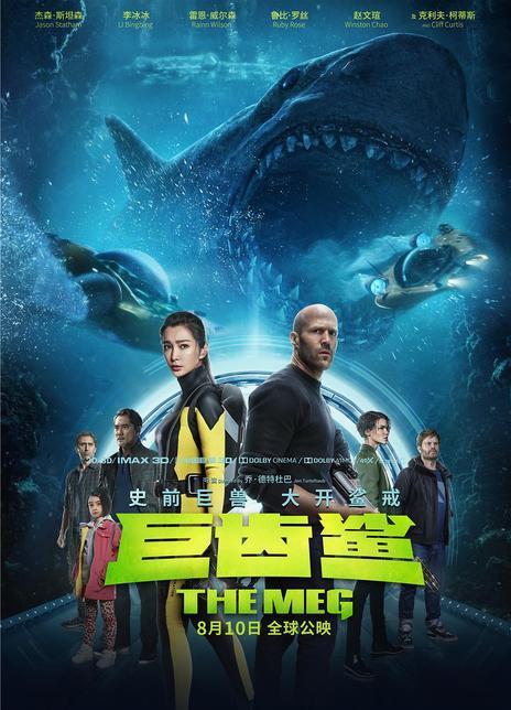 巨齒鯊(2018)