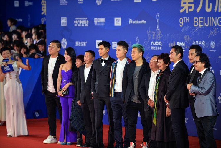 《一级指控》亮相北京国际电影节,方中信等全明星阵容闪耀红毯  第1张