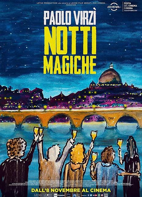 2018 意大利《魔力之夜》探索意大利電影黃金時代的幕后故事