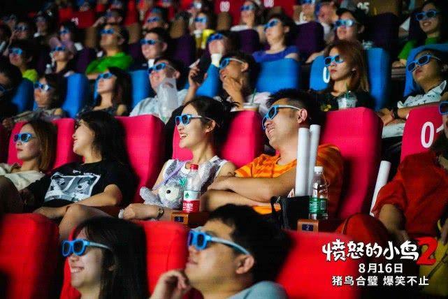 """《愤怒的小鸟2》816上映 超前观影上座率超50% 观众""""笑到缺氧"""""""