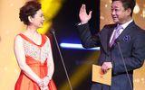 54岁朱军和妻子同台主持,网友:他怎么变这么黑!