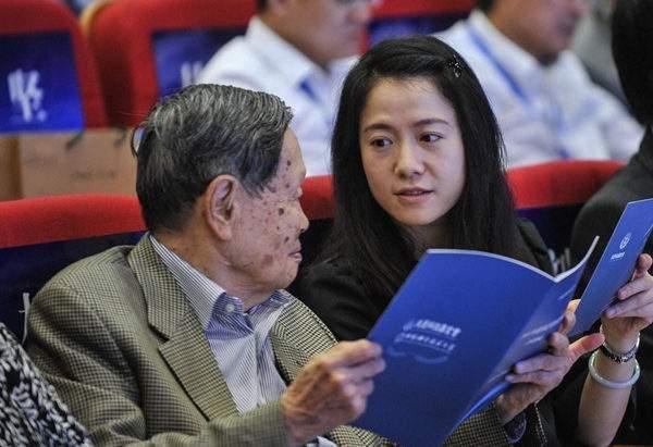 96岁杨振宁这样称呼翁帆74岁父亲,网友:好机智  第1张